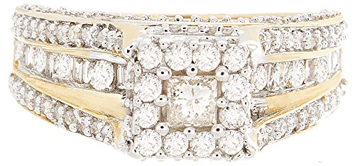 1.42 CT Excellent Cut Round Diamond (H-1 color, i1-i2 Clarity) in 10K Gold Fashion Ring by Zacks Fine Jewelry (Image #3)
