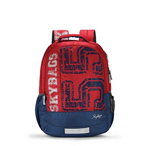 Skybags Bingo 31.878 Ltrs Red School Backpack (SBBIN01RED)