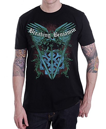 Breaking Benjamin Sword T-Shirt Black (Small)