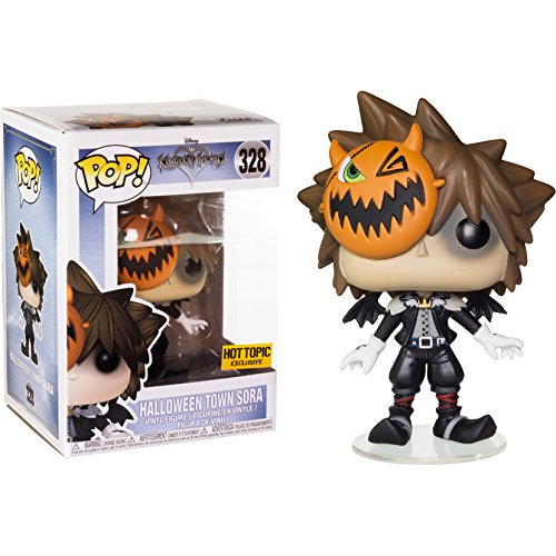 Funko - Disney Kingdom Hearts-Halloween Town Sora Figurina, Multicolor, 14958