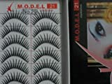 Model 21 High End No. 21, 22, 23, 24, 25, 26,27, 28, 29 or 30 False Fake Eyelashes 10 Pairs