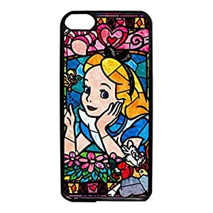 Visual Design Cartoon Alice In Wonderland Phone Case for Ipod Touch 6th Generation Beauty Style Cover Case