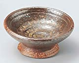 Bizen 3inch Set of 5 Small Bowls Brown Ceramic Made in Japan