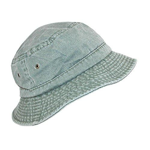 Dorfman Pacific Cotton Packable Summer Travel Bucket Hat, Large/Xlarge Pigment Cap
