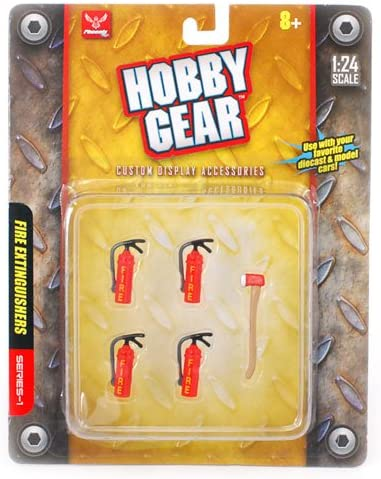 FIRE EXTINGUISHERS Hobby Gear PH-1:24