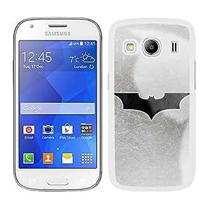 Funda carcasa para Samsung Galaxy Ace 4 diseño Batman superhéroe borde blanco