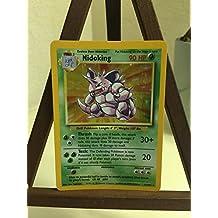 Pokemon Base Set Holofoil Card #11/102 Nidoking