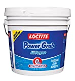 Loctite Power Grab Express All‐Purpose Adhesive, 1 Gallon Pail, 4- Pack (2082702-4)