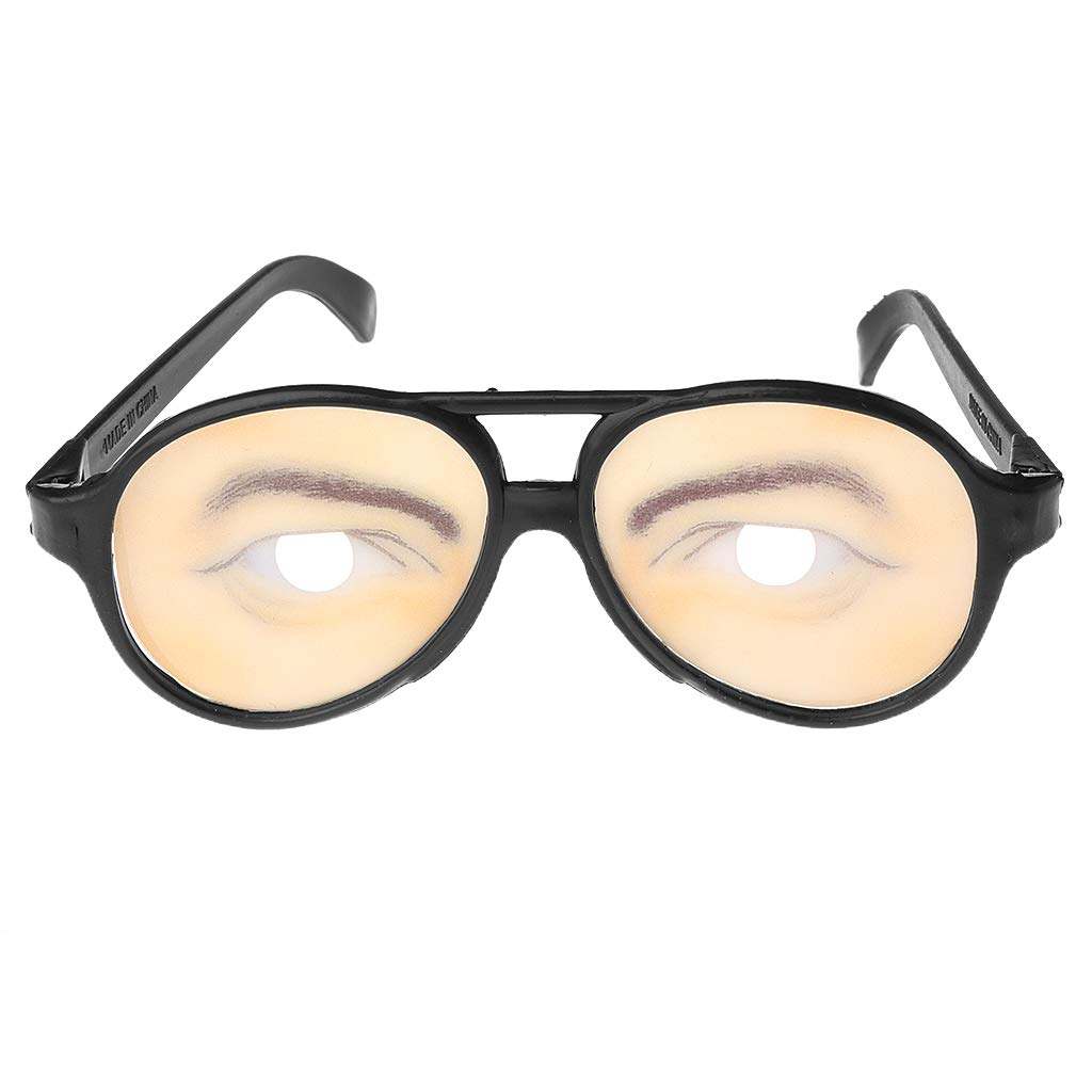 Lamdoo Crazy Eyes Glasses Funny Specs Shape Changing Shades Halloween Party Joke Gifts 2
