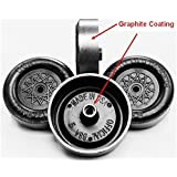 Pinewood Derby Wheels - PRO Lathed, Graphite Coated by Pinewood Pro