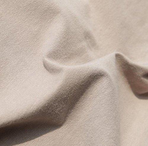TACVASEN T-Shirt en Coton à Manches Longues pour Hommes avec Poches - Outdoor - Militaire 3