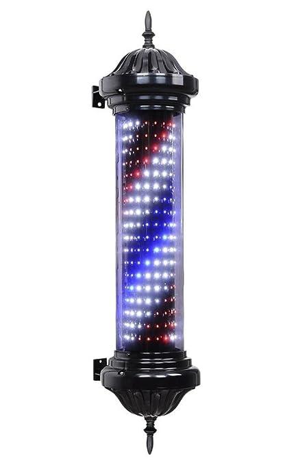 Amazon Aepole Retro Barber Pole Light Rotating Illuminated Red