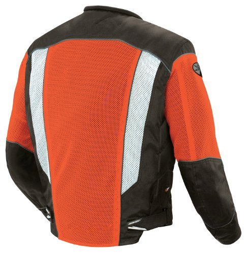 Joe Rocket Phoenix 5.0 Men's Mesh Riding Jacket (Orange, Large) - Joe Rocket Riding Jackets