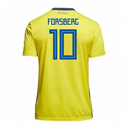 c63a653c0b4 Image Unavailable. Image not available for. Color: 2018-19 Sweden Home  Football ...