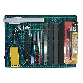 Alemon Gundam Modeler Builder's Tools Craft Set Kit  For Professional Bandai Hobby Model Assemble Building