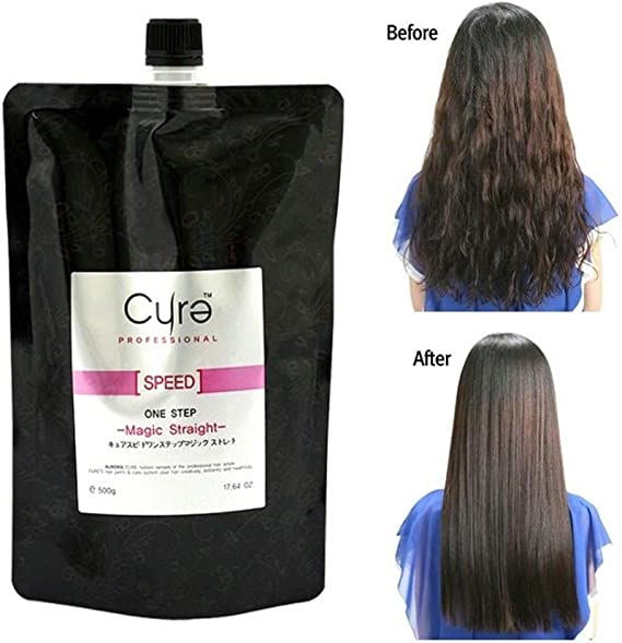 Cure One Step Japanese Magic Hair Straightening Treatment