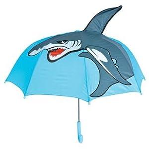 "27"" Kids Shark Umbrella Child's Boy Girl Umbrellas"