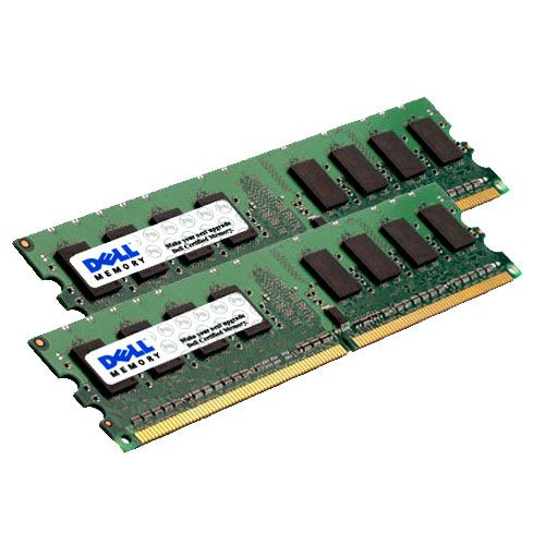 16gb (2x8gb) 667mhz 240-pins pc2-5300 ddr-2 ecc registered sdram dimm memory kit for poweredge r805 server p/n: snpp134gck2/16g - dell (Pc2 5300 Ddr Sdram)