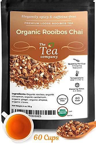 Rooibos Tea Organic Loose Leaf by The Tea Company