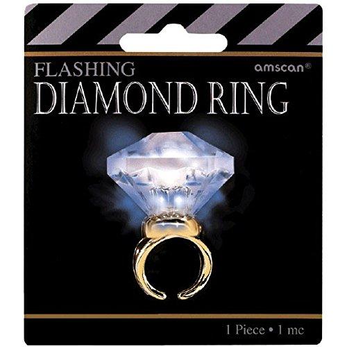 Hollywood Mega Carat Diamond Party Ring by amscan