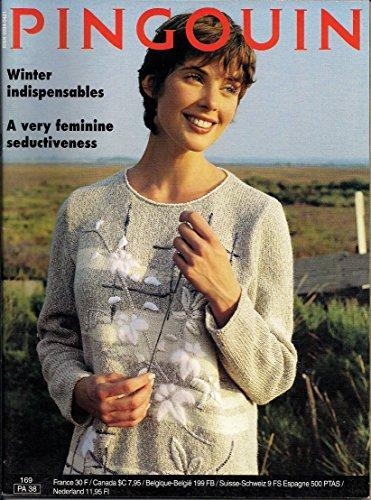 Pingouin Knitting Pattern Magazine, 169, PA (Fair Isle Yoke Cardigan)