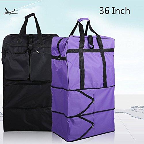 36 pulgadas con ruedas bolsas bolsas de equipaje viaje ...