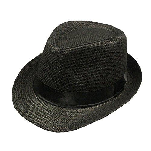 [Hot Sale!Cliror 2017 Women Men Fashion Summer Outdoor Beach Sun Cap Western Style Cowboy/Cowgirl Straw Hat] (Duckbill Costume Pattern)