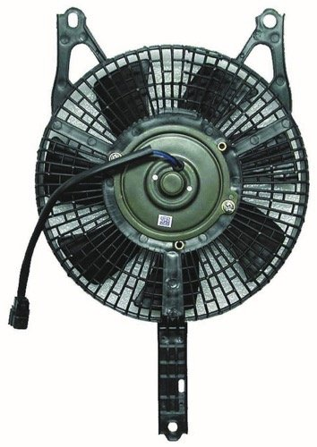 Go-Parts » Compatible 1990-1995 Mazda Protege A/C Condenser Fan - (S) BR70-61-710A MA3113103 Replacement For Mazda Protege -