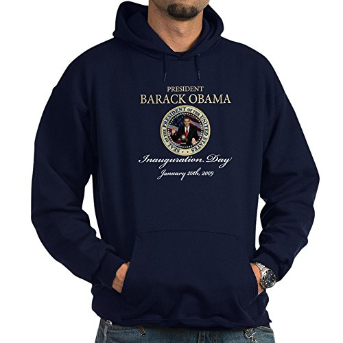 CafePress President Obama Inauguration Pullover Hoodie, Classic & Comfortable Hooded Sweatshirt Navy Barack Obama Hooded Sweatshirt