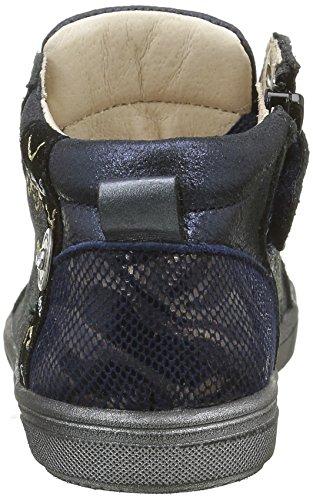 Catimini Marmotte - Zapatos de primeros pasos Bebé-Niños Azul - Bleu (12 Vte Bleu/Or Dpf/Gluck)