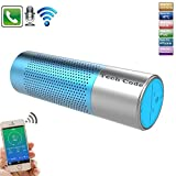 Wireless Bluetooth Speaker,Techcode Portable Stereo Speaker with High-Definition Bass,Rechargeable Flashlight Torch Speaker with Flashlight ,Handsfree for Calls for iPhone, iPod, iPad, Samsung (Blue)