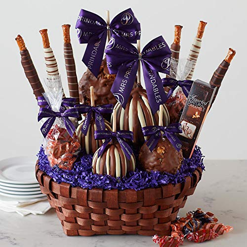 Mrs Prindables Premium Caramel Apple Gift Basket