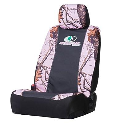 Amazon Com Mossy Oak Pink Camo Low Back Bucket Seat Cover Mossy