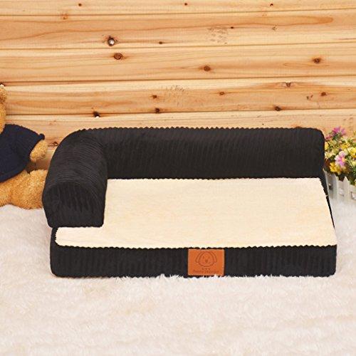 Sofá de espuma de memoria ortopédica de lujo Cama para perro de salón (Size : S55*45 * 15cm): Amazon.es: Coche y moto