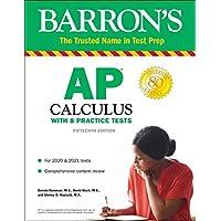 Barron's Test Prep AP Calculus with 8 Practice Tests