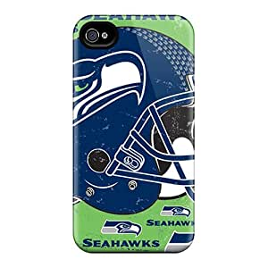 Best Hard Cell-phone Case For Iphone 6 (MON3376WGMr) Custom Attractive Seattle Seahawks Series