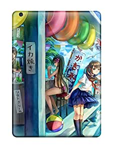 Jim Shaw Graff's Shop 2260318K259457758 anime schoolgirl skirt original Anime Pop Culture Hard Plastic iPad Air cases