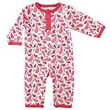 Yoga Sprout Baby Cotton Union Suit, Paisley, 0-3 Months (3M)
