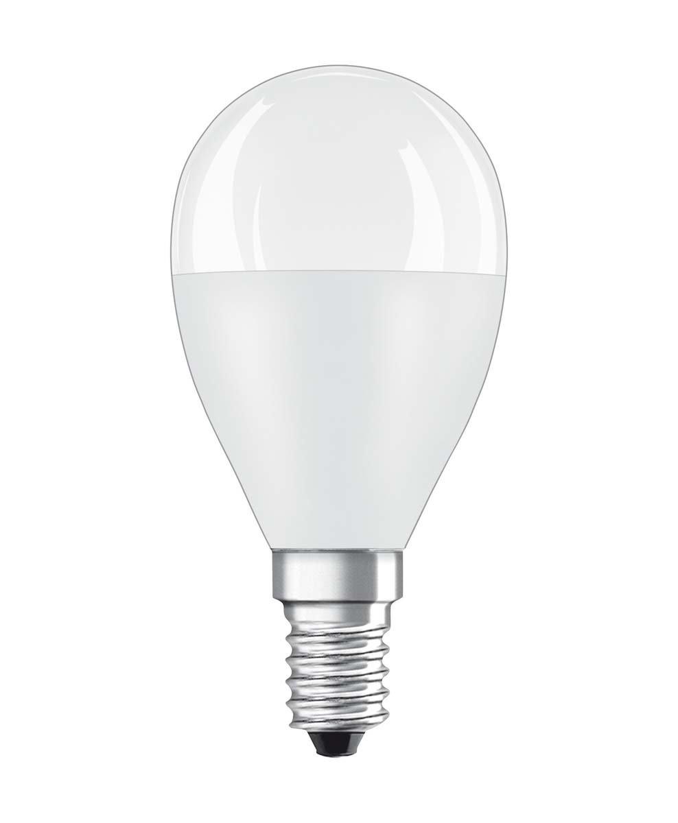 Osram LED SuperStar Classic P Lampe, in Tropfenform mit E14-Sockel, dimmbar, Ersetzt 40 Watt, Matt, Warmweiß - 2700 Kelvin, 1er-Pack Ledvance 4052899900905