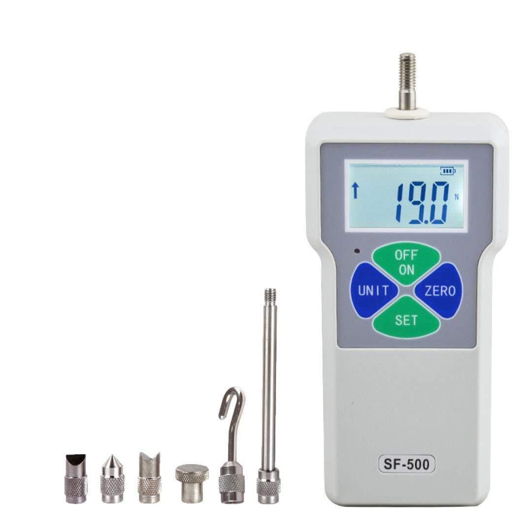 cjc Pressure Tester Meter Digital Push Pull Force Gauge High Precision 0.1N/0.01N/0.001N Digital Dynamometer Pressure Tester (0.001N/5N)