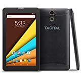 Tagital 7 Quad Core 3G Phablet, Android Phone Tablet, Android 6.0, 1024 x 600 IPS Screen, Dual Camera, Unlocked GSM w/Dual Sim Card Slot, 2G/3G Phablet