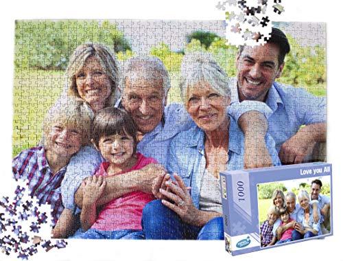 Personalized Photo Puzzle (Venus Puzzle Custom Photo Puzzle 1000 Pieces, Personalized Jigsaw Puzzle 1000)
