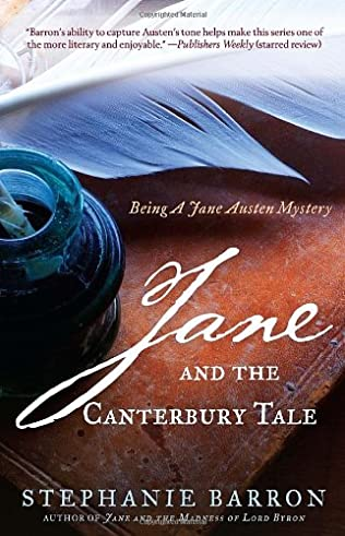 book cover of Jane and the Canterbury Tale