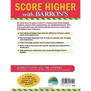 Test ebook sat subject barrons physics