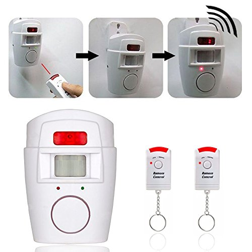 Aisitin Wireless Home Security Alarm Pir Infrared Sensor