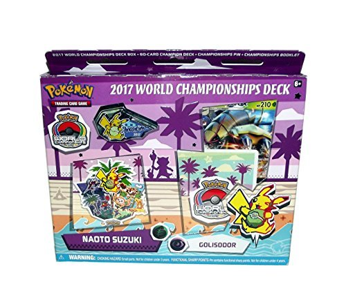 Pokemon Trading Card Game 2017 World Championship Deck Set (Naoto Suzuki's Golisodor (Feat. Golisopod)) (Card Feat)