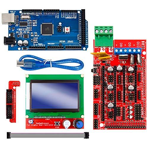 Moligh doll Mega 2560 R3 Mega2560 Rev3 + Rampas 1.4 Controlador + ...