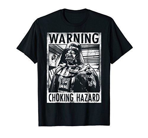 Star Wars Darth Vader Choking Hazard Vintage Graphic T-Shirt