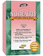 Nu-Beauty Silica+ (60Caplets) Brand: Nulife