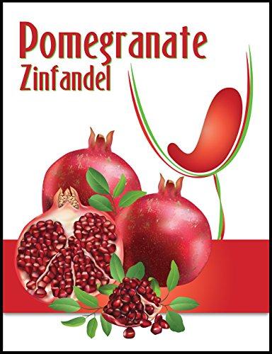 Island Mist Pomegranate Zinfandel Wine Bottle Labels - 30 -